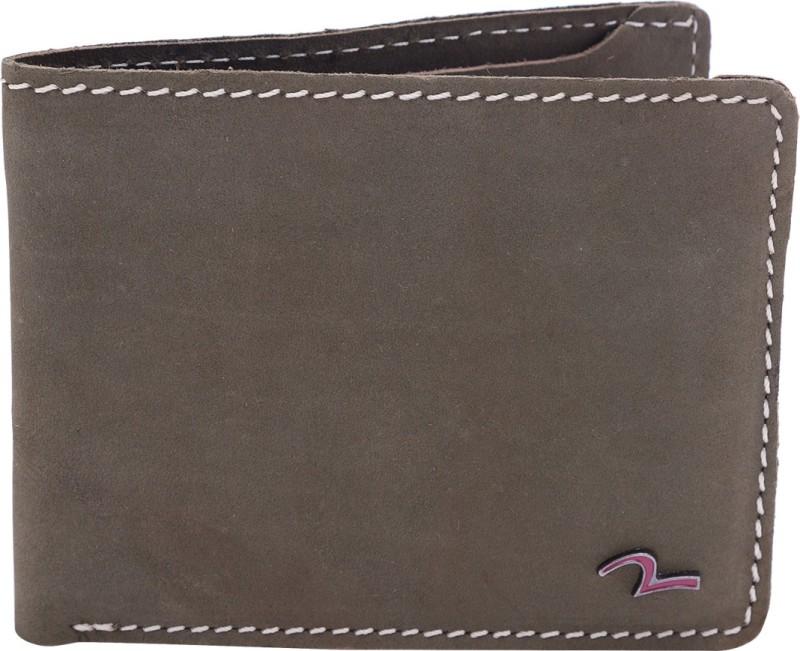 Spykar Men Green Genuine Leather Wallet(8 Card Slots)