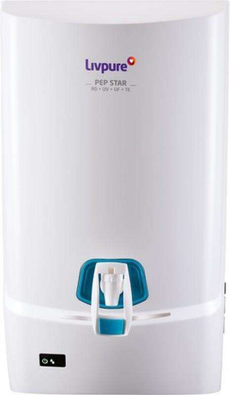 LIVPURE PEP STAR 7 L RO + UV + UF + TDS Water Purifier(White)