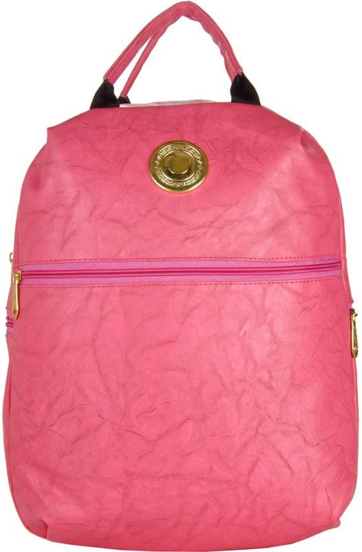 JG Shoppe JGCasualsBC02 9 L Backpack(Pink)