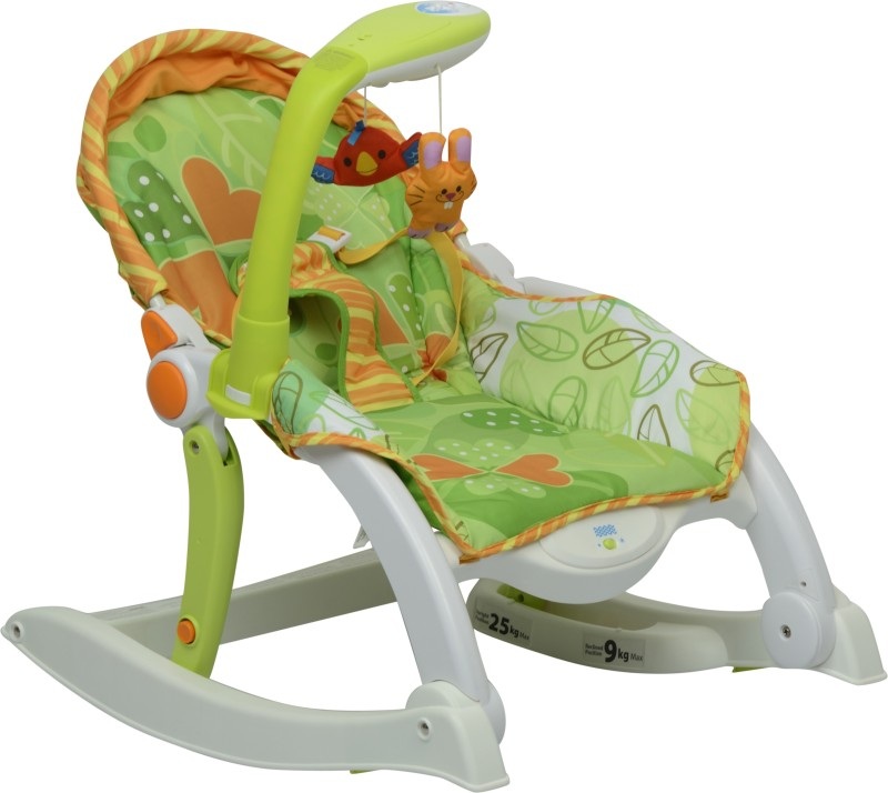 Winfun Winfun Grow With Me Rocking Chair-Newborn to Toddler Musical Baby Rocking Chair With Vibration(Multicolor)