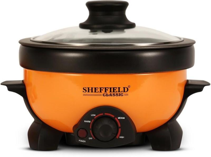 Sheffield Classic Multi Cook Grill, Boiler, Fryer 1.1 L Electric Deep Fryer