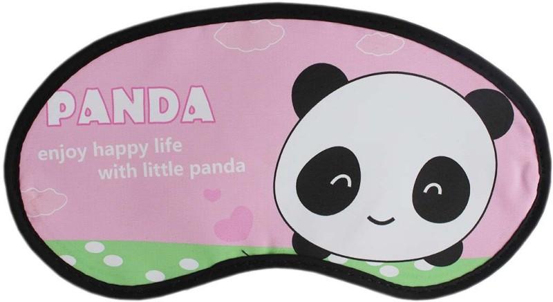 Tootpado Panda Bear Sleep Eye Mask With Elastic (Pack of 2) - Pink (LNTq089)(12 g)