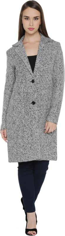 Honey By Pantaloons Full Sleeve Self Design Women's Jacket