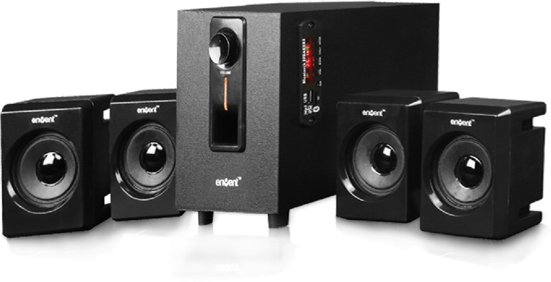 Envent DeeJay 500 Home Theatre(Black, 4.1 Channel)