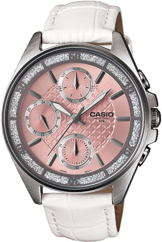 Casio A860 Enticer Ladies Analog Watch - For Women
