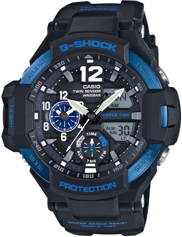 Casio G639 G-SHOCK Gravity Master Analog-Digital Watch - For Men