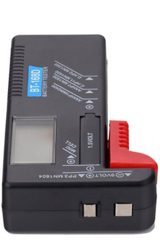 amicikart Universal Digital Battery Tester Volt Checker For AA AAA C D 9V 1.5V Button Cell BT-168D Batteries Digital Battery Tester