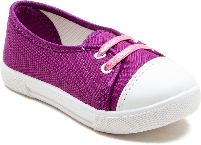 BEGETTER The Inceptioner Girls Slip on Ballerinas(Purple)