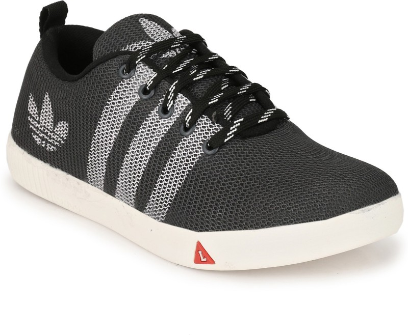 OLADIN Exclusive Mesh Canvas Shoes Sneakers-Black/Grey/Blue(NHT-730) Canvas Shoes, Casuals, Sneakers(Black, Grey, Blue)