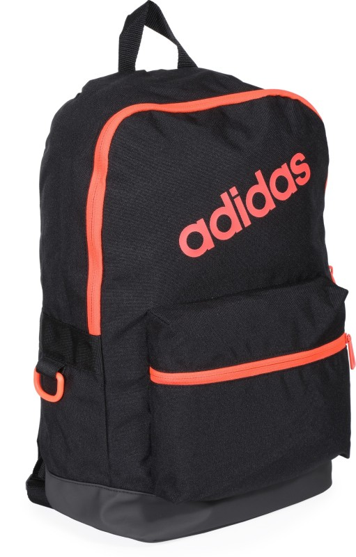 ADIDAS BP DAILY 25 L Backpack(Black, Orange)