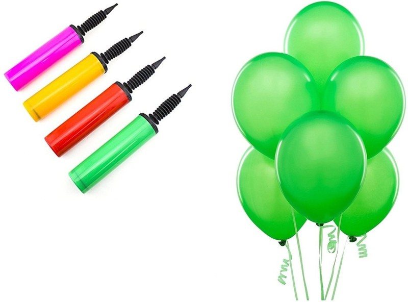 Shop Online Combo Pack For Birthdays, Anniversary, Valentine Balloon Decorations (Green)