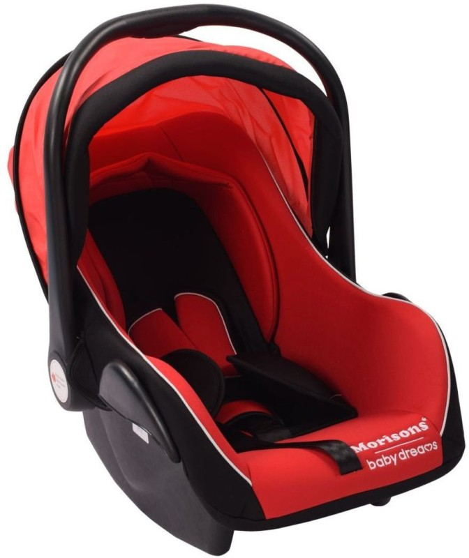 Morisons Baby Dreams Baby Car Seat Cum Carry Cot - Red Baby Car Seats Car Seat(Red)
