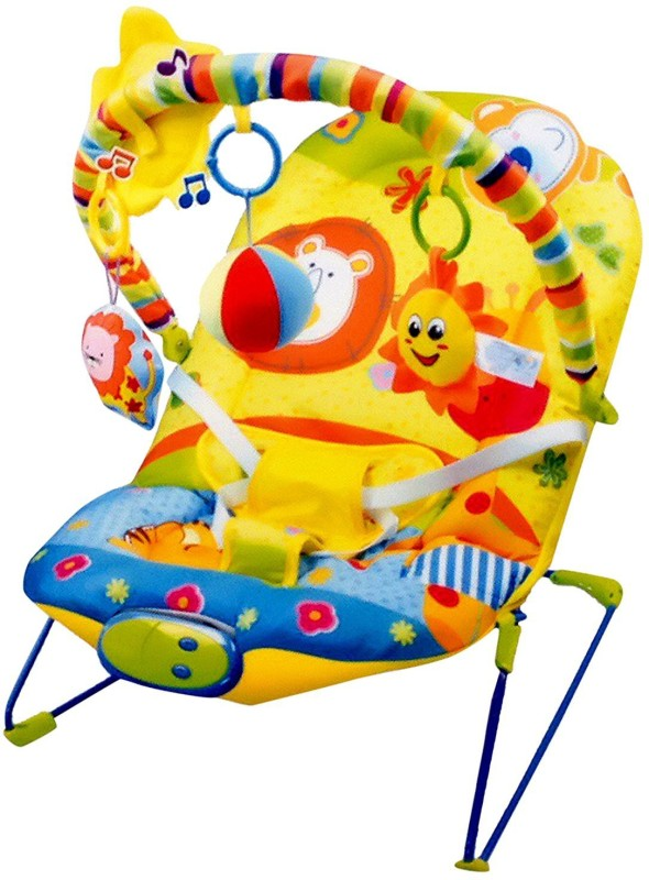 Shrih Infant Baby Rocking Vibrations Chair(Multicolor)