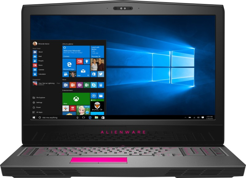 Alienware Core i7 7th Gen - (16 GB/1 TB HDD/512 GB SSD/Windows 10 Home/8 GB Graphics) 17 Gaming Laptop(17.3 inch, Anodized Aluminum, 4.42 kg, With MS Office)