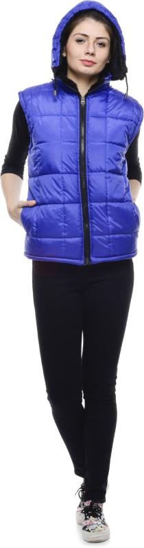 shyammc Sleeveless Solid Women Jacket