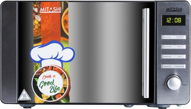 Mitashi 20 L Convection Microwave Oven(MiMW20C8H100, Black)