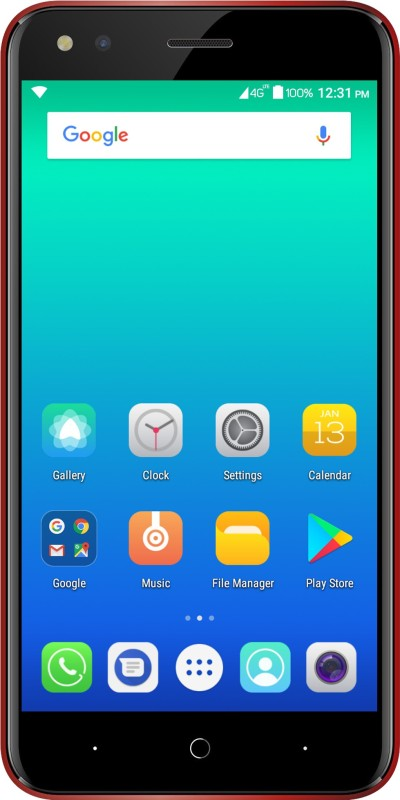Micromax Bharat 4 (Red, 16 GB)(1 GB RAM)