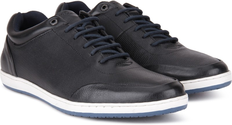 Hush Puppies By Bata TITAN DERBy Sneakers For Men(Black)
