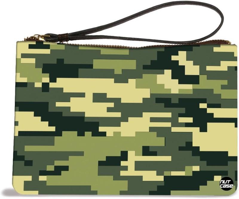 Nutcaseshop Army Camo 8 Bit Pouch(Multicolor)