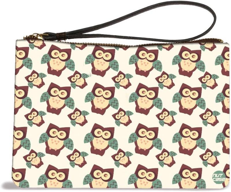 Nutcaseshop Cute Owls Kids Pouch(Multicolor)