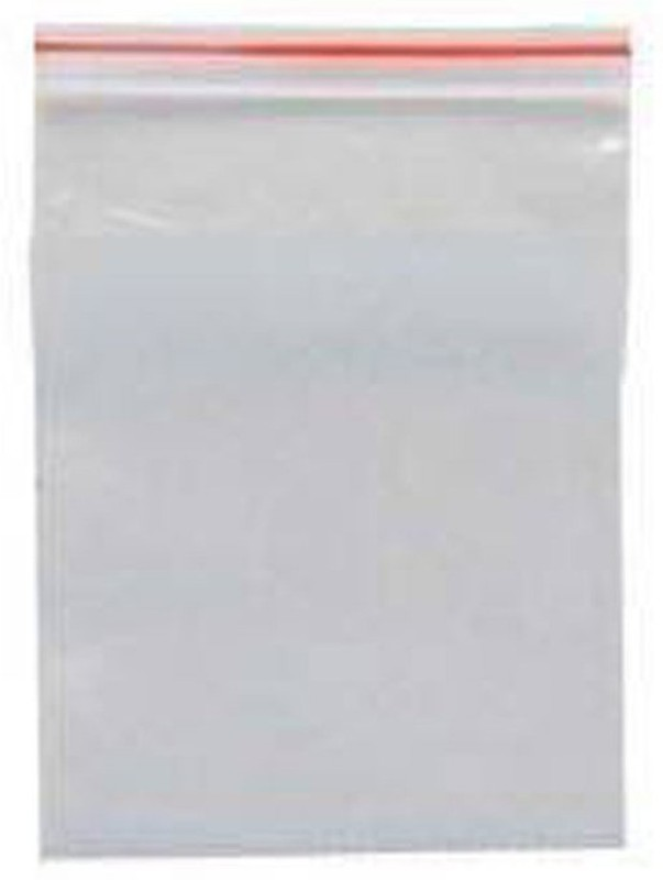 shopely Resealable Plastic Air Tight Pouch(Clear Pack of 100)