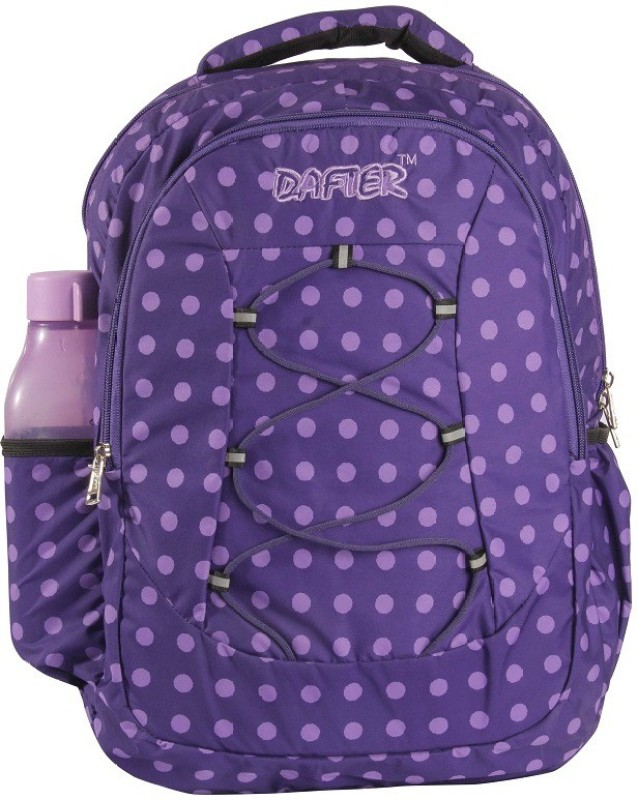 dafter Purple Polyester Laptop Backpack 50 L Backpack(Purple)