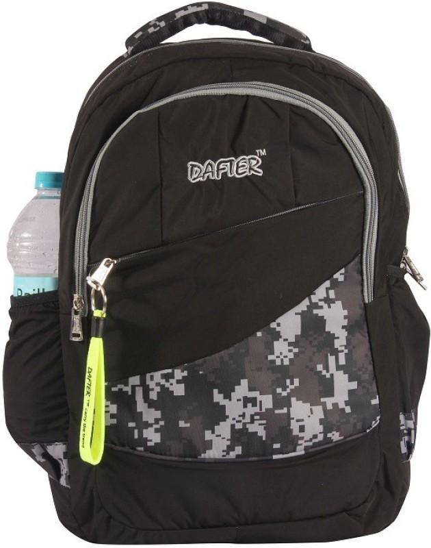 dafter Black Polyester Laptop Backpack 1.5 L Backpack(Black)