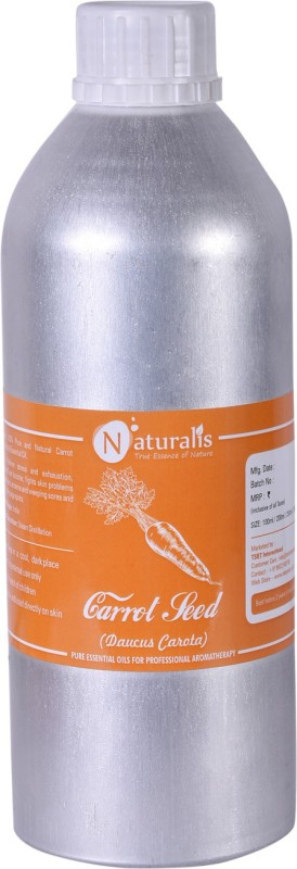 Naturalis 1 Pure Carrot Seed Essential Oil - 1000ml(1000 ml)