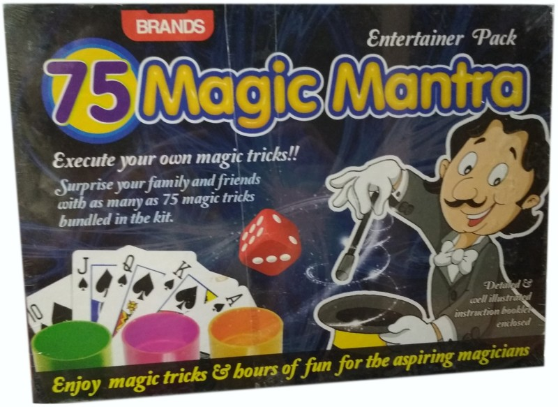 HALO NATION 75 magic Tricks Play Set Magic mantra Brands Board Game