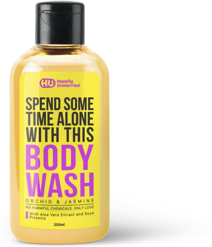 Happily Unmarried Body Wash - Orchid & Jasmine 200ml(200 ml)