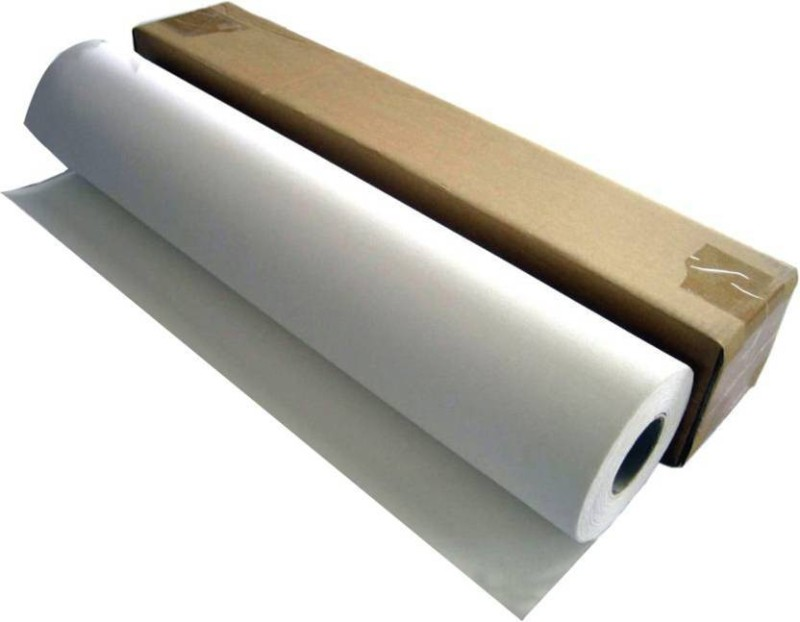 Eascan Art Canvas Roll 27 Inch X 5 Meters (artist prime canvas) Cotton Medium Grain Canvas Roll (Set of 2)(White)