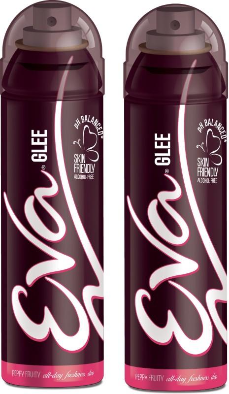 EVA Deodorant Spray, Glee, 125ml (Pack of 2) Deodorant Spray - For Women(125 ml, Pack of 2)