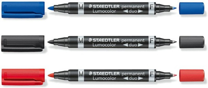 Staedtler Lumocolor Duo 348 Multi-function Pen(Pack of 3)