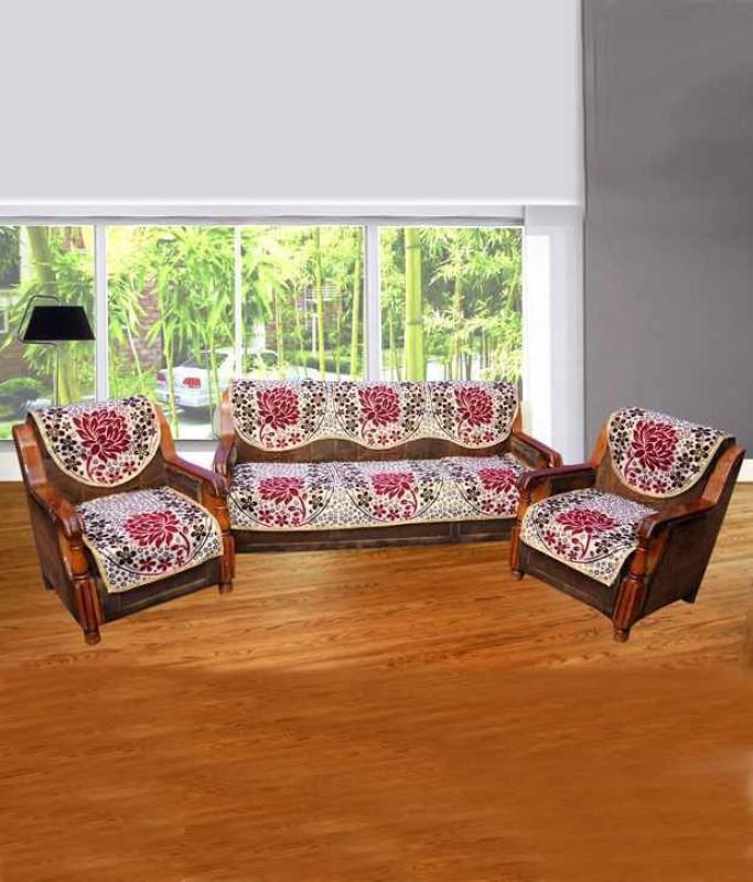 SHIV KIRPA SC007 SC007 Sofa Fabric(Multicolor 1.7 m)