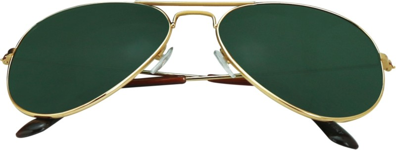 SPY RAYS COLLECTION Aviator Sunglasses(Green) image