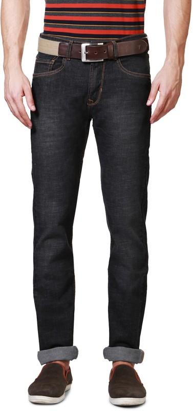 Peter England Slim Men Black Jeans