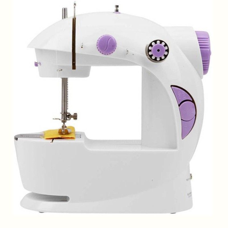 Aladdin Shoppers 4 in 1 Mini portable Electric Sewing Machine( Built-in Stitches 45)