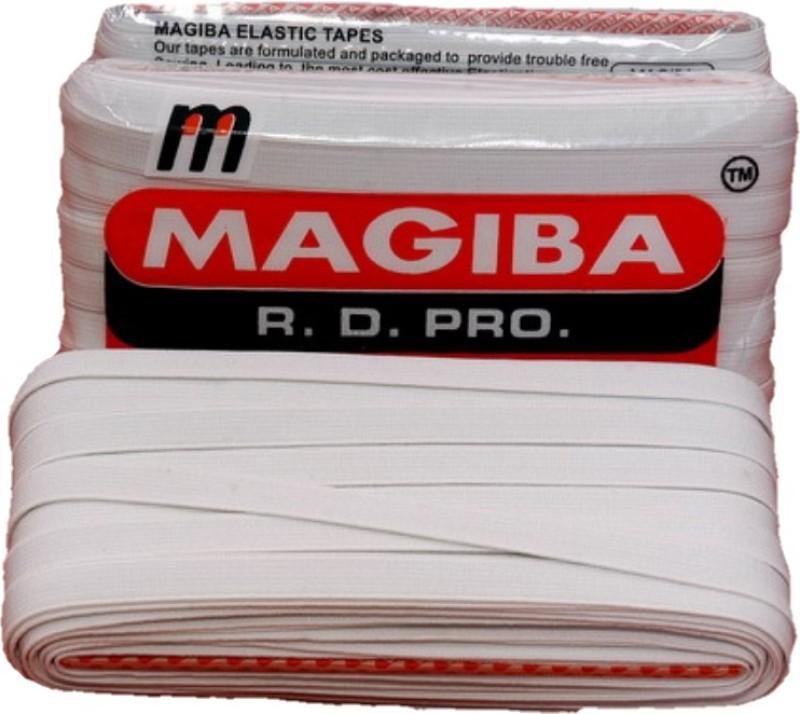 Megiba Woven White Elastic(25 m)