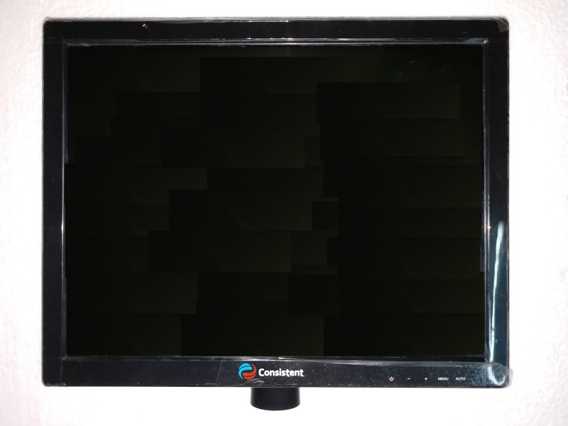 Consistent 15 inch SVGA LED - CTM1505 Monitor(Black)