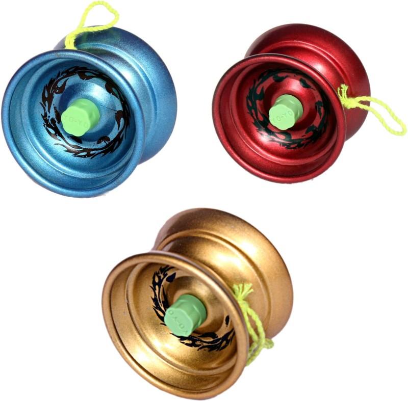 Homeshopeez Premium Quality High Speed Diecast Metal - Set of 3 Toy Yoyo
