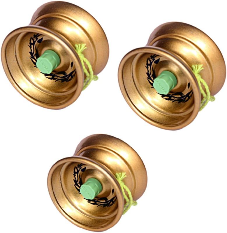 Homeshopeez Premium High Speed Diecast Metal - Set of 3 Toy Yoyo