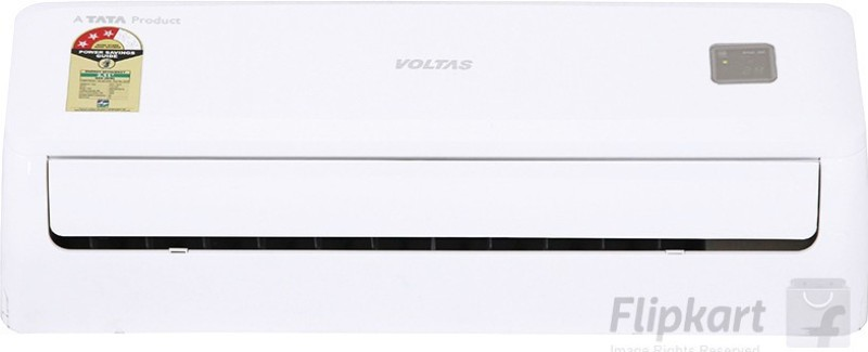 Voltas 1 Ton 3 Star BEE Rating 2017 Split AC - White(123DYa, Copper Condenser)