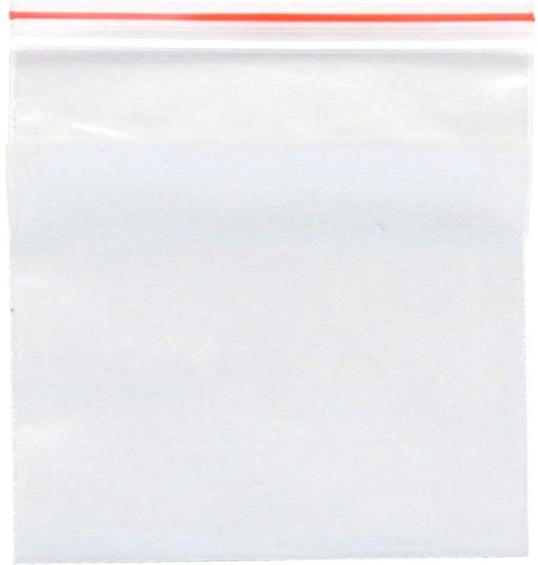 SSEmp Resealable Plastic Air Tight Pouch(Clear Pack of 200)