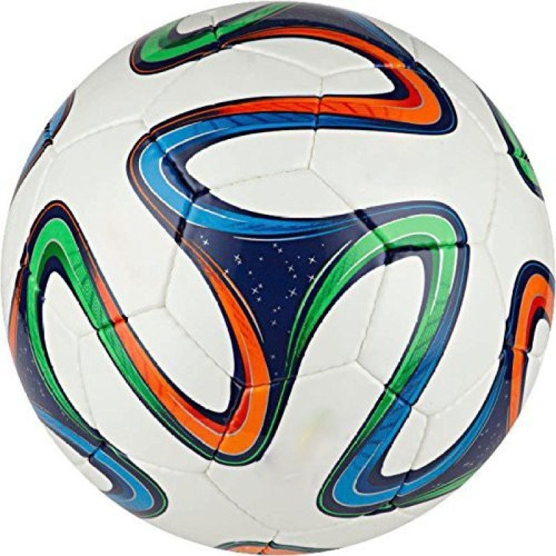 ADIDAS brazuca Football - Size: 5(Pack of 1, White)