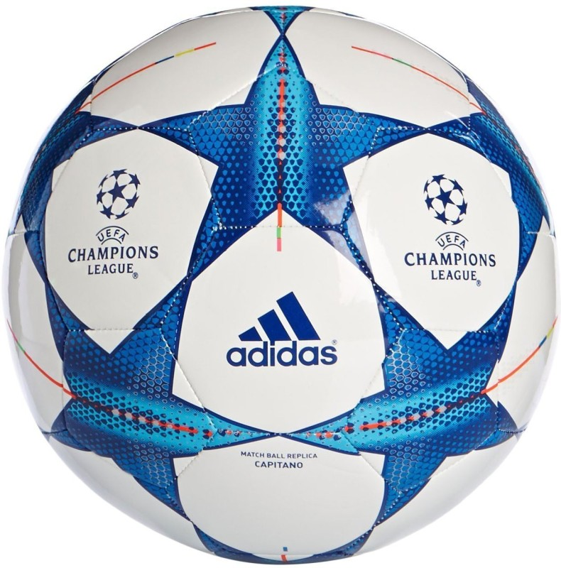 ADIDAS Champion Football - Size: 5(Pack of 1, White)
