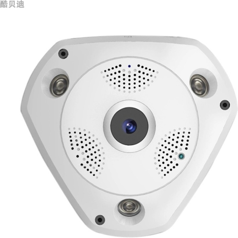 ZVR 960P IP HD VR Camera Panoramic WiFi Network Fisheye 1.44mm 360 Panoramic Wi-Fi Cameras SECURITY Surveillance CCTV Cam support VR BOX IP Camera Camera White