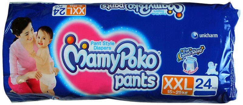 MamyPoko Diapers - XXL(24 Pieces)