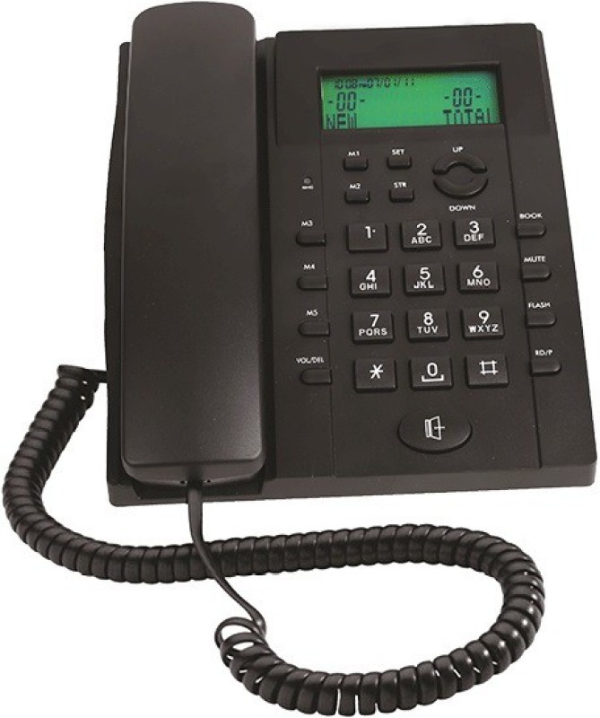 Binatone BT-730 Corded Landline Phone(Black)