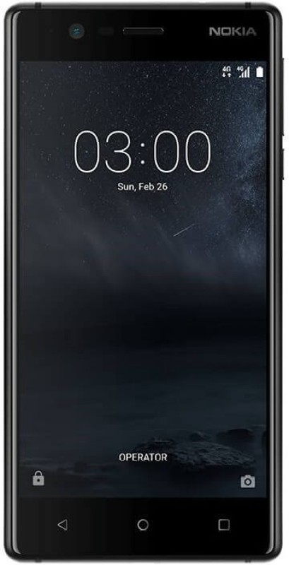 Nokia 3 (Matte Black, 16 GB)(2 GB RAM)