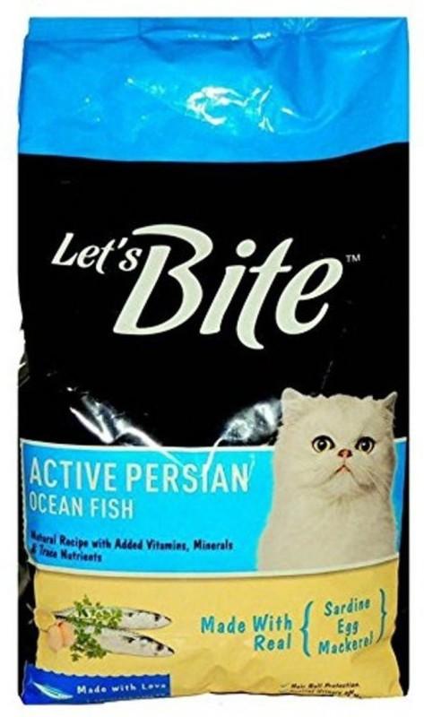 drools Lets bite Persian cat food 1.2 Fish Dry Cat Food